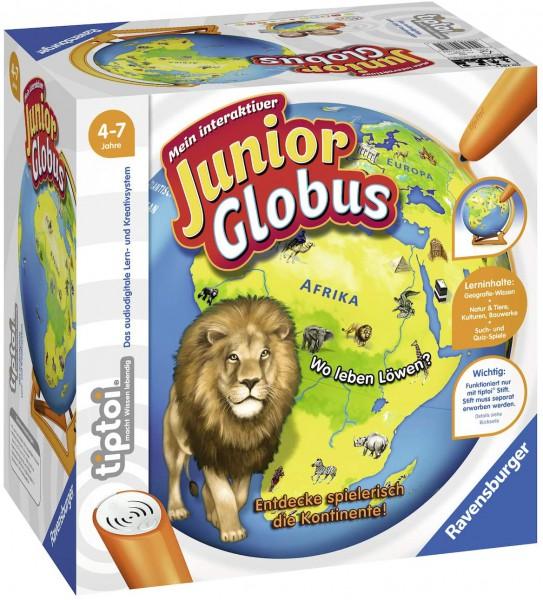 Ravensburger tiptoi 00785 - Mein interaktiver Junior Globus - Kinderspielzeug ab 4 Jahren