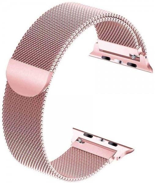 Tervoka Ersatzarmband kompatibel mit Apple Watch Armband 40mm 38mm, Metal Edelstahl Armband mit Magn