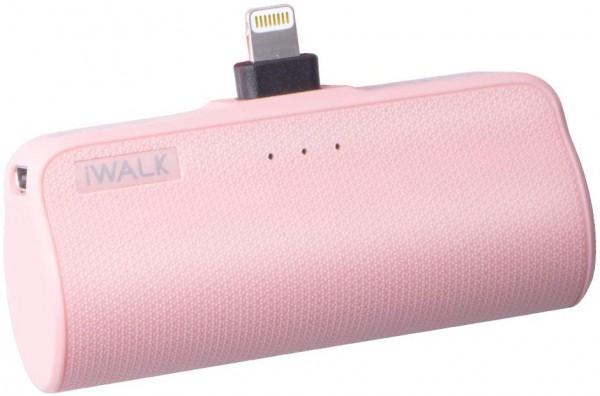 iWALK Externer Akku 3350mAh Tragbares Power Bank Kompakt Handy Ladegerät Kompatible für iPhone 12, 1