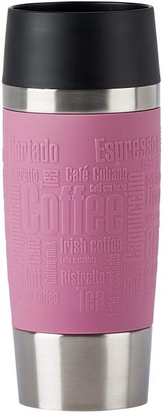 Emsa N20130 Travel Mug Thermo-/Isolierbecher aus Edelstahl | 0,36 Liter | 4h heiß | 8h kalt | BPA-Fr